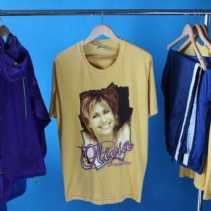 "2001 Olivia Newton-John ""30 Musical Years"" Tour T-"